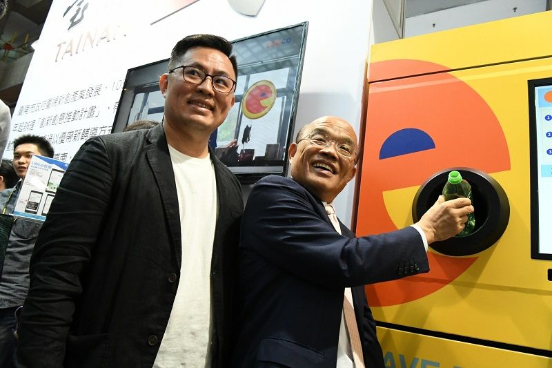 Premier praises Taiwan innovation at opening of InnoVEX 2019 Photos - New Southbound Policy
