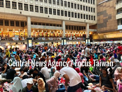 Tens of thousands of Muslims celebrate Eid al-Fitr in Taipei Photos - New Southbound Policy
