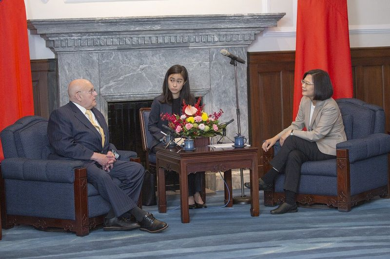 President Tsai eyes stronger Taiwan-US ties, more Indo-Pacific cooperation Photos - New Southbound Policy