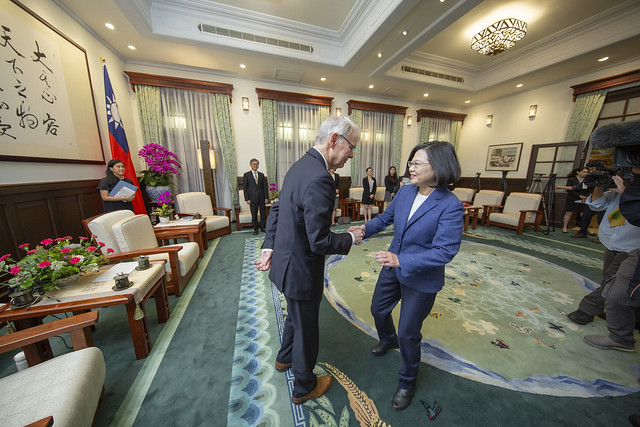 Tsai seeks expanded Taiwan-US-Japan cooperation in Indo-Pacific Photos - New Southbound Policy