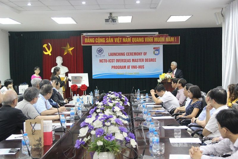 Taiwan's NCTU launches master's degree program in Vietnam Photos - New Southbound Policy