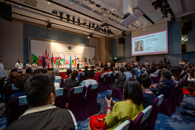 President Tsai attends opening ceremony for 27th Pan-Pacific & Southeast Asia Women's Association international conference Photos - New Southbound Policy
