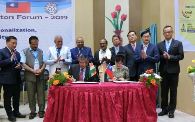 Taiwan-India higher education forum wraps up Photos - New Southbound Policy