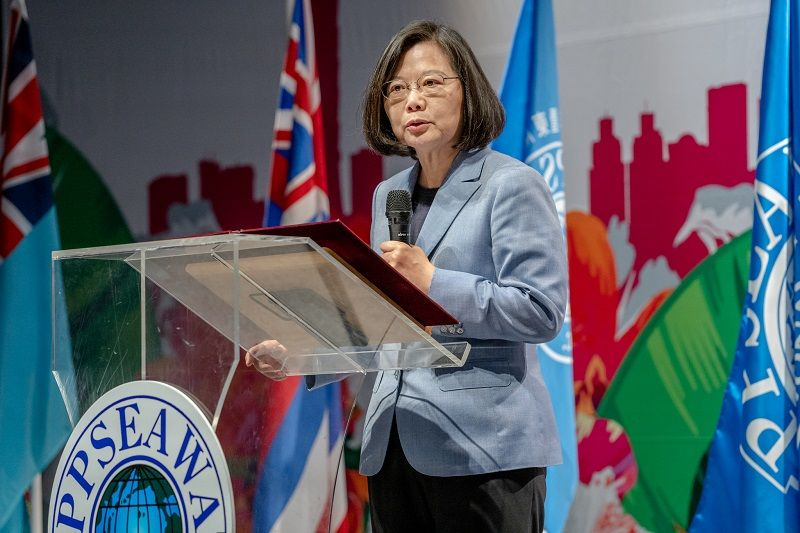 Tsai opens PPSEAWA conference, pledges to keep empowering women Photos - New Southbound Policy