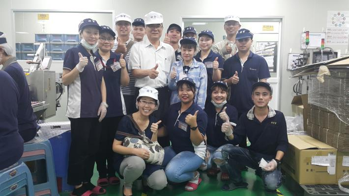 Tainan Labor Affair Bureau visited and cared for internship foreign students Photos - New Southbound Policy