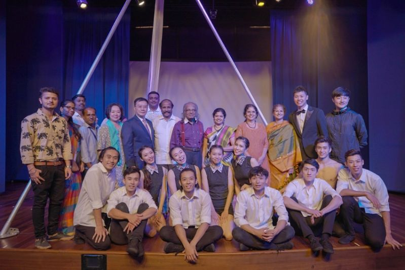 """Formosa Circus Art (FOCA) troupe from Taiwan staged the performance """"The Heart of Asia"""" in Chennai Photos - New Southbound Policy"""