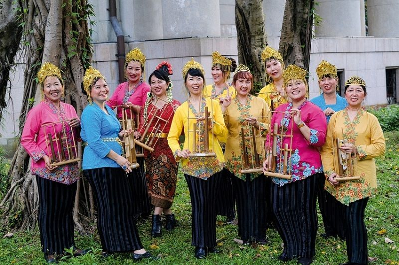 Gema Angklung: Traditional Indonesian Music in Taiwan Photos - New Southbound Policy