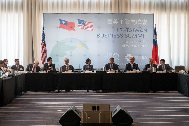 President Tsai attends Taiwan-US Business Summit Photos - New Southbound Policy
