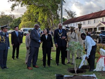 President Tsai continues Journey of Freedom, Democracy, Sustainability in SKN