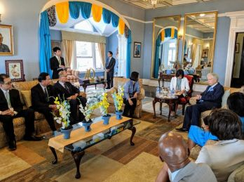 President Tsai visits St. Lucia on 4th leg of Journey of Freedom, Democracy, Sustainability