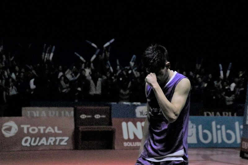 Taiwan badminton ace Chou wins men's singles at Indonesia Open Photos - New Southbound Policy