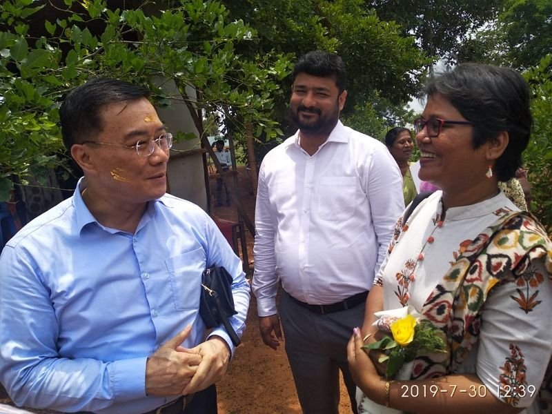 """The Taipei Economic and Cultural Center in Chennai facilitated the launch of a program called """"Child-Friendly Communities through Creative Learning Centre Model in India"""" Photos - New Southbound Policy"""