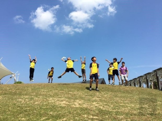 The 2019 Overseas Youth English Teaching Volunteer Service Program in Taiwan helps children in rural areas learn English Photos - New Southbound Policy