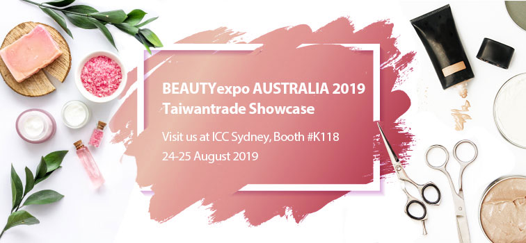Explore the magic of beauty with Taiwantrade.com at Beauty Expo Australia 2019 Photos - New Southbound Policy
