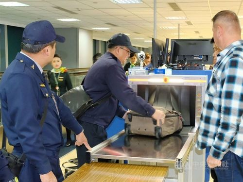 Taiwan expands hand luggage checks to four more Asian countries Photos - New Southbound Policy