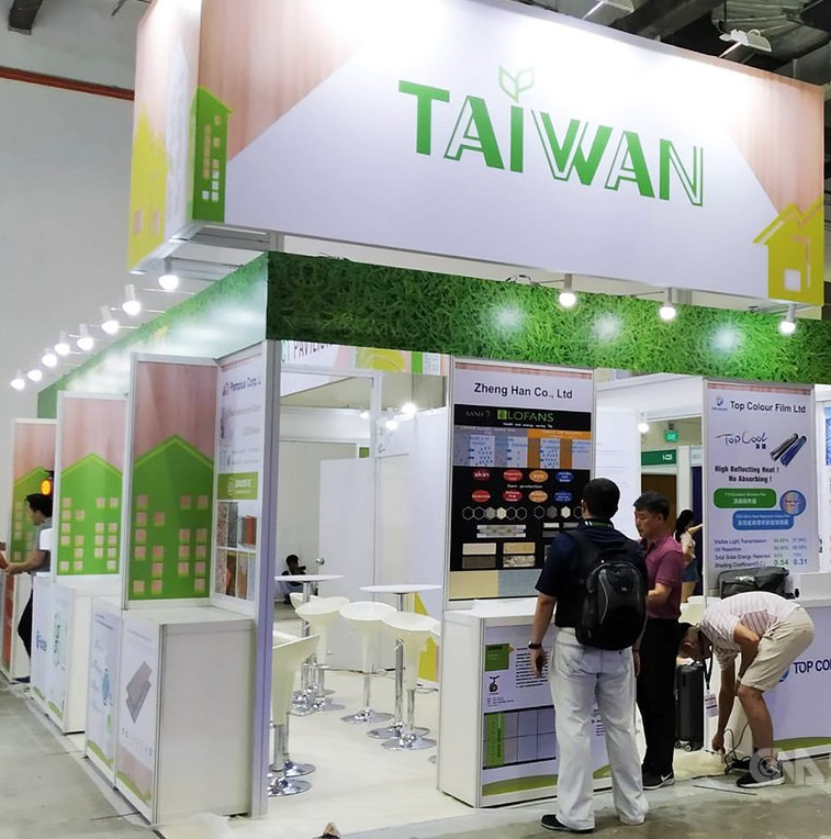 Taiwan Green Product Pavilion joins BEX Asia exhibition in Singapore Photos - New Southbound Policy