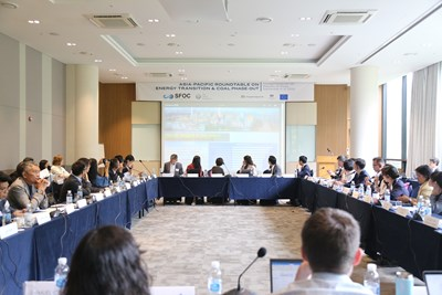 Taichung City's Enhanced Reduction of Coal Consumption gains International Recognition, Participates in the Asia-Pacific Coal-free Roundtable Meeting and receives Support Photos - New Southbound Policy