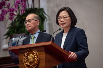 Tsai condemns Solomon Islands' decision to establish ties with China