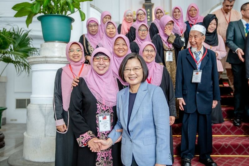 Tsai pledges to deepen ties with global Muslim community Photos - New Southbound Policy