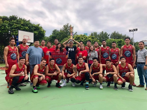 Major Filipino migrant worker basketball league launched in Taoyuan Photos - New Southbound Policy