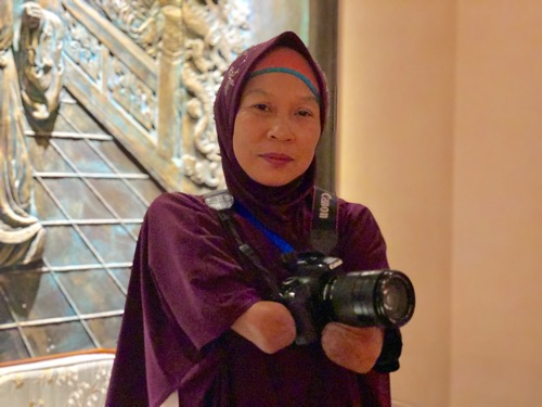 Handicapped Indonesian photographer to receive Love of Lives Award Photos - New Southbound Policy