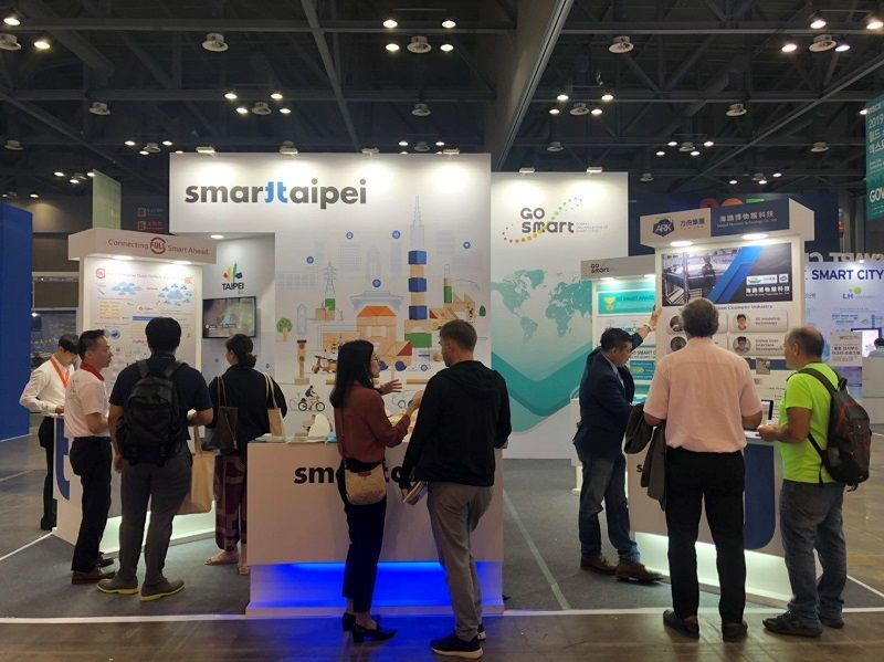Taipei City Travels to Korea to Participate in World Smart City Expo Photos - New Southbound Policy