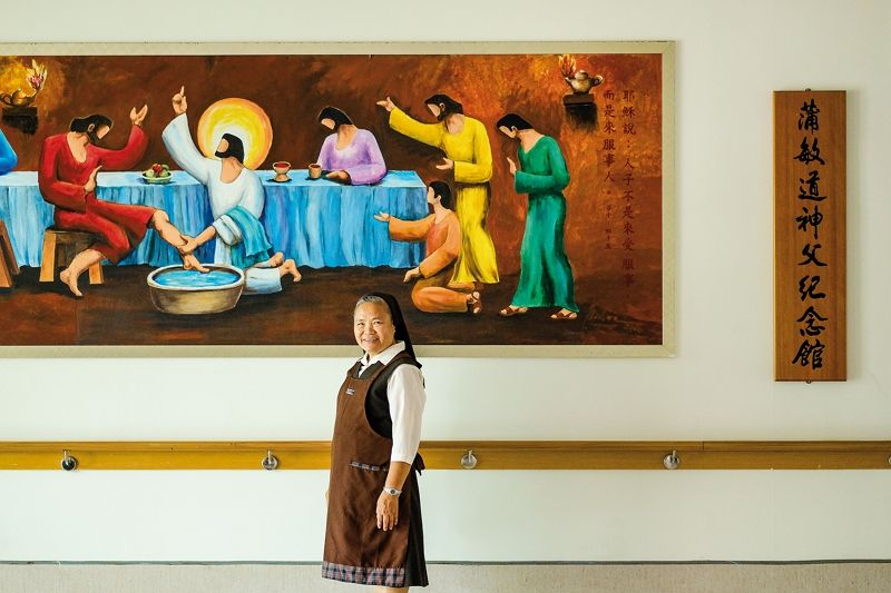 Smiling Sister Mary: A Lifetime Dedicated to Disabled Children Photos - New Southbound Policy