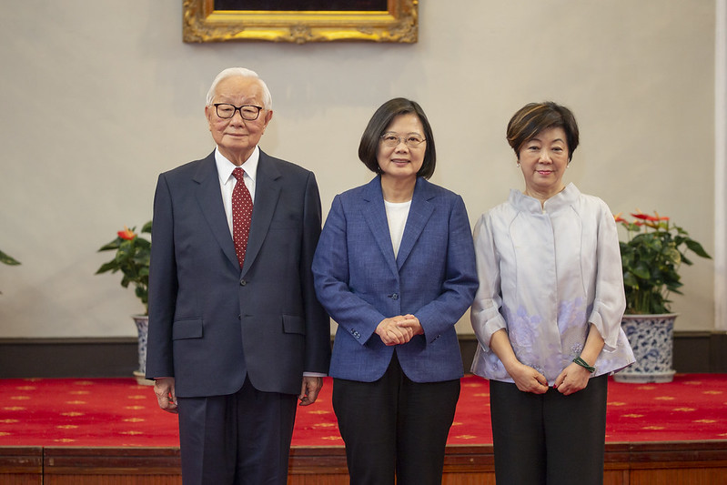 President Tsai designates TSMC founder Morris Chang as Leader's Representative at APEC Economic Leaders' Week Photos - New Southbound Policy