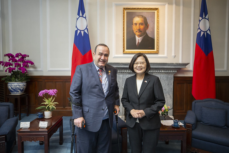 President Tsai pledges to strengthen Taiwan-Guatemala relations[open another page]