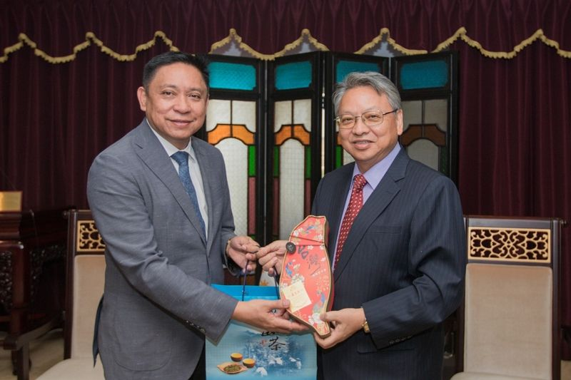 Mayor of Butuan From the Philippines Visits Taichung City Government to Facilitate Cooperation and Exchange Between Taiwan and Philippines Photos - New Southbound Policy