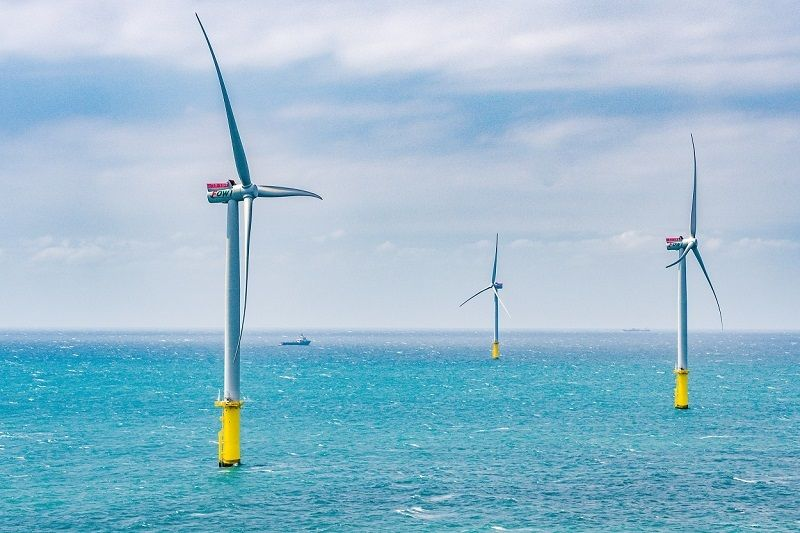 MOEA Attends to Demonstration Wind Farm Development to Achieve the 2020 Target of Offshore Wind Photos - New Southbound Policy
