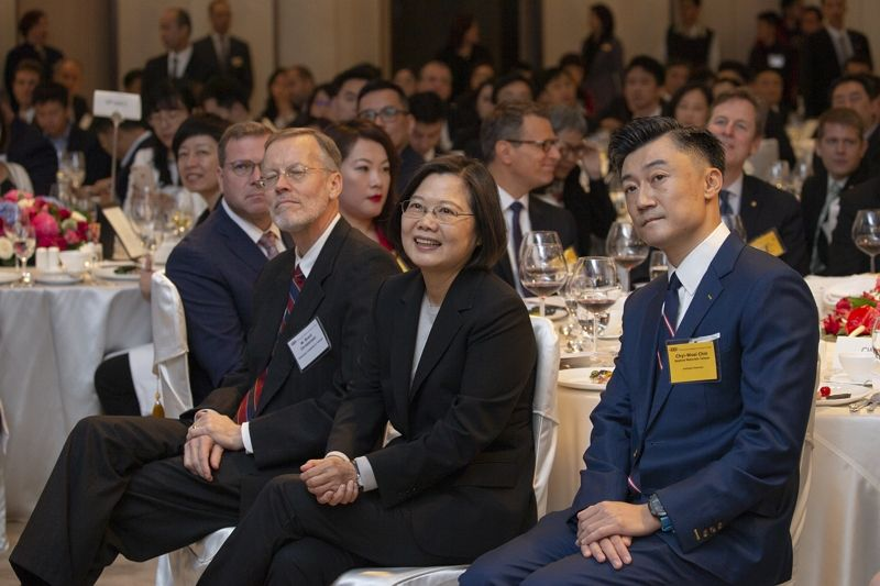 President Tsai attends 2019 AmCham Taipei Annual General Meeting Photos - New Southbound Policy