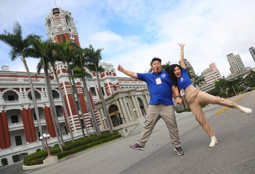 Thai couple laud Taiwan's openness after stay at Presidential compound Photos - New Southbound Policy