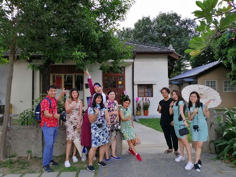 Thai Internet Celebs Visiting Pingtung Photos - New Southbound Policy