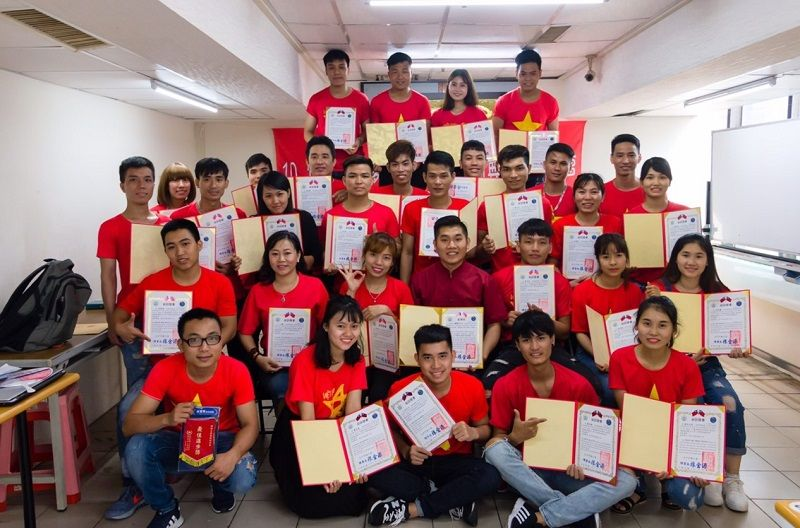Taichung Calls for Foreign Worker Roll Model Selection Photos - New Southbound Policy