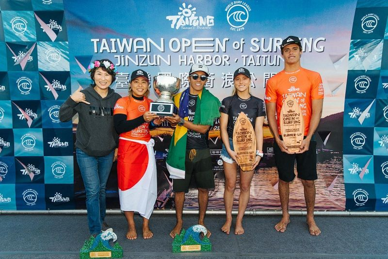 Taiwan's largest international surfing sports event over the years-Taiwan Open of Surfing 2019 returns from Nov. 23 to Dec. 7 Photos - New Southbound Policy