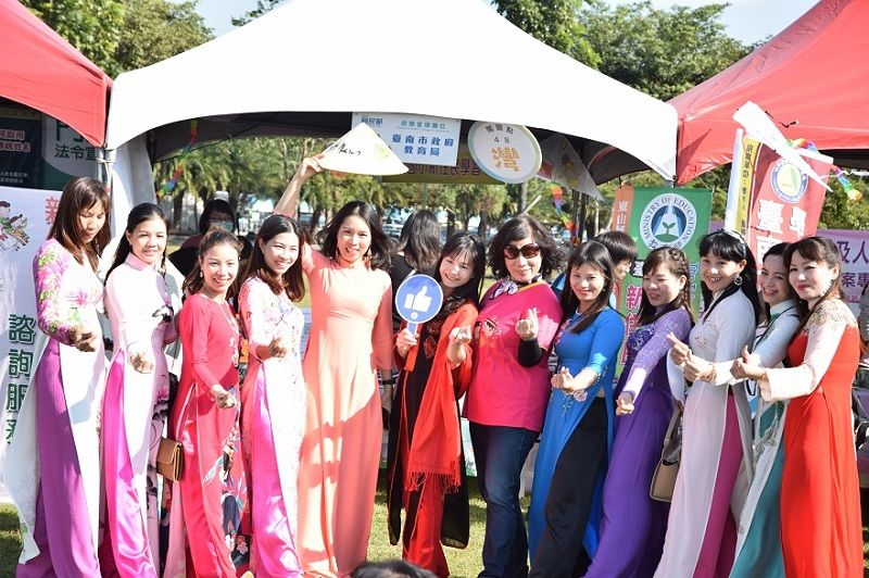 """""""Taiwan, Diversity Calls It Home"""", The Annual Event for Migrants Day Sparkling Chimei Museum in Tainan City Photos - New Southbound Policy"""