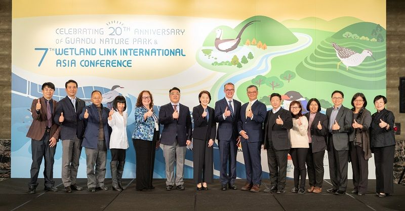 Taipei Evening Welcomes 20 Countries Worldwide to Participate in the 7th Wetland Link International Asia Conference Photos - New Southbound Policy
