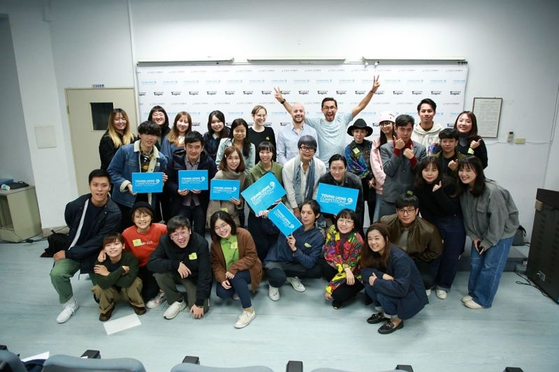 Final selection results announcement for Taiwan team representing Taiwan in the 2020 Cannes Lions International Festival of Creativity Young Lions competition sponsored by the Ministry of Foreign Affairs Photos - New Southbound Policy