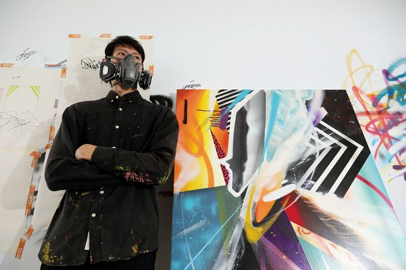 I Paint, Therefore I Am—Graffiti Artist DEBE Photos - New Southbound Policy