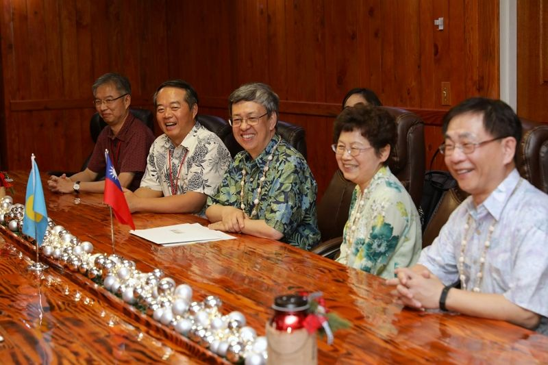 Vice President Chen meets Palau President Tommy Remengesau, Jr. Photos - New Southbound Policy