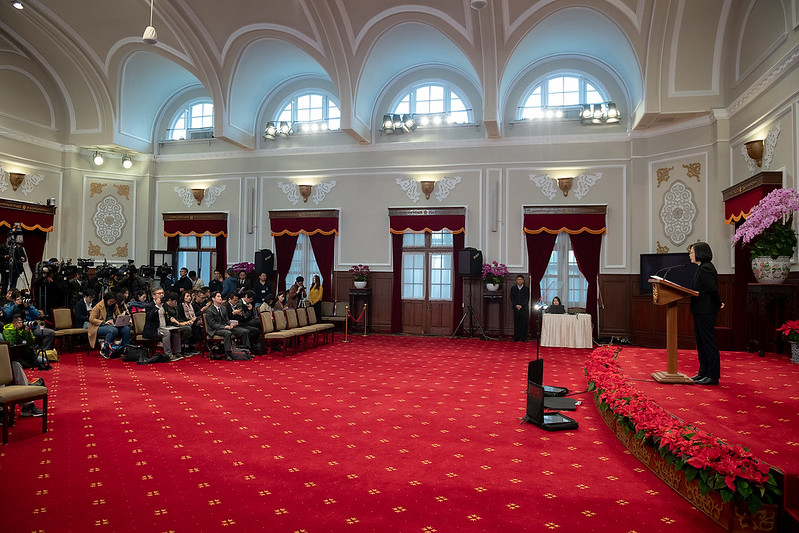 President Tsai delivers 2020 New Year's Address Photos - New Southbound Policy
