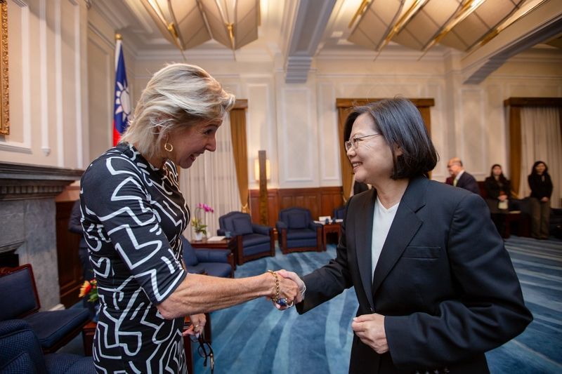President Tsai meets delegation from American Enterprise Institute Photos - New Southbound Policy