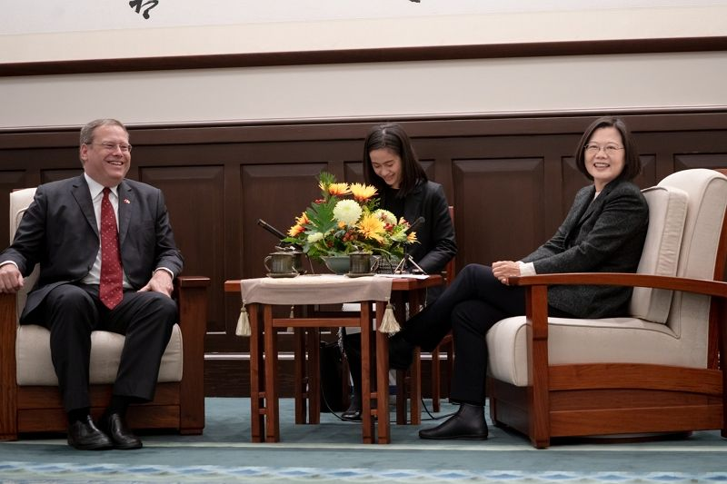 President Tsai meets delegation from US Center for Strategic and International Studies Photos - New Southbound Policy
