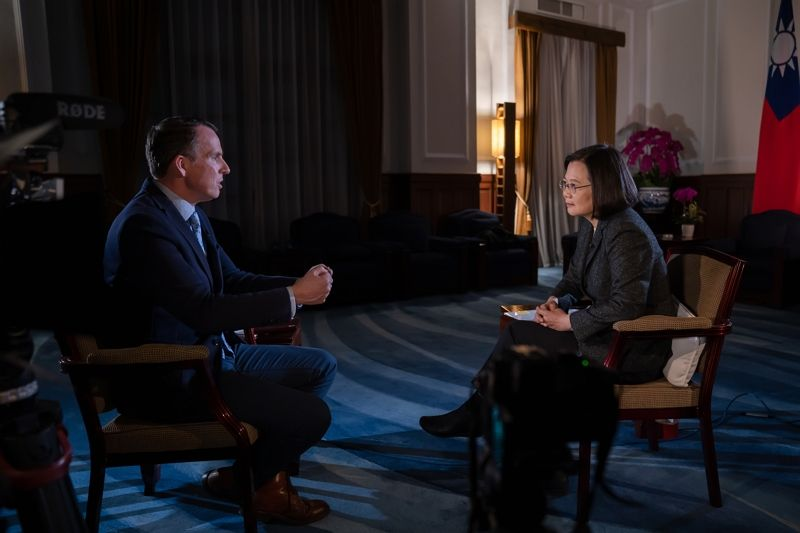 President Tsai interviewed by BBC Photos - New Southbound Policy