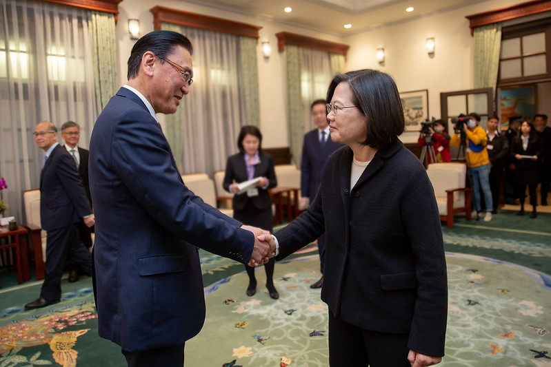 President Tsai meets Keiji Furuya, Chairman of Japan-ROC Diet Members' Consultative Council Photos - New Southbound Policy