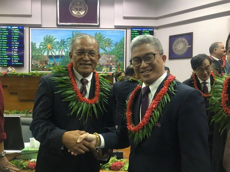 MOFA official meets with Marshall Islands president Photos - New Southbound Policy