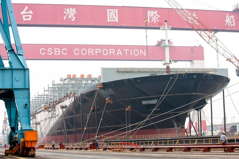 Taiwan shipbuilding industry revenue rises over 25 percent Photos - New Southbound Policy