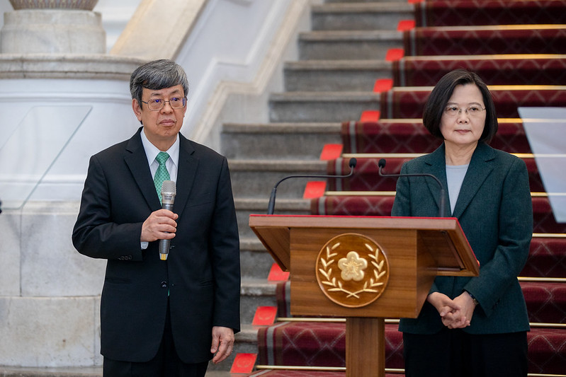 President Tsai issues remarks regarding government response to COVID-19 pandemic Photos - New Southbound Policy
