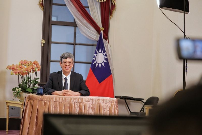 Vice President Chen interviewed by France 24 Photos - New Southbound Policy